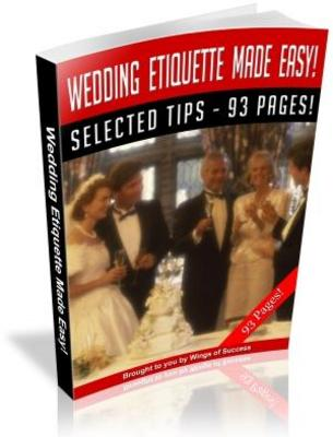 Product picture Wedding Etiquette Made Easy