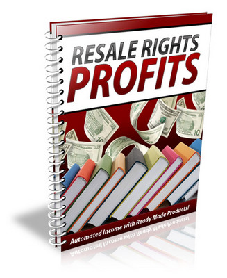 Product picture Resale Rights Profits
